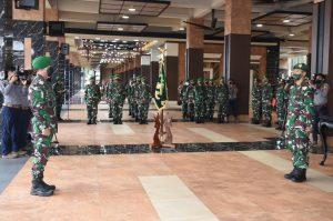 Kasad Pimpin Kenaikan Pangkat 25 Pati TNI AD dan Sertijab Dirajenad