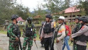 Minggu Pagi TNI Polri Tembak Mati 3 Teroris di Ilaga Papua