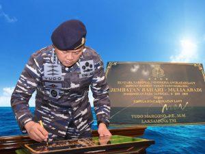 TNI AL Bantu Pembangunan Jembatan, Dukung Kelancaran Ekonomi
