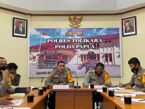 Bareng PJU, Polres Tolikara Wujudkan Polri Presisi