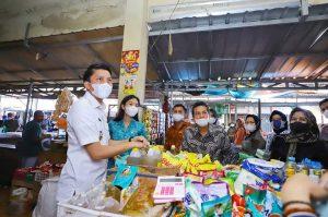 Bupati Panca Ingin Penataan Ulang Pasar Indralaya