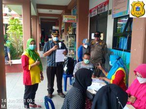 526 Warga di Kelurahan Warakas Sudah Divaksinasi
