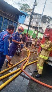 25 Rumah Terbakar di Pademangan, 50 KK Harus Mengungsi