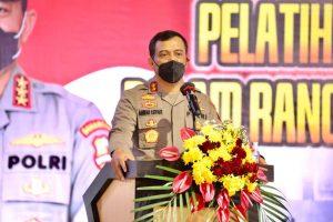 Ratusan Anggota Senkom Mitra Polri Diberi Pelatihan Tracer