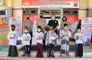 Sambut HUT Bhayangkara ke-75, Polres Pekalongan Gelar Khitanan Massal