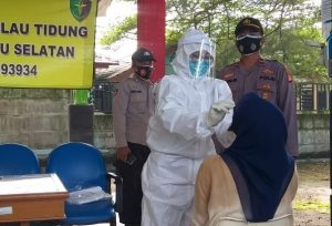 11 Warga Terjaring Ops Yustisi Gabungan Polsek Kep Seribu Selatan