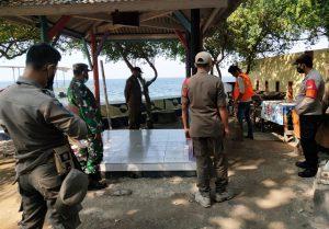 Ops Yustisi Polsek Kep Seribu Selatan Beri Sanksi 21 Pelanggar ProKes
