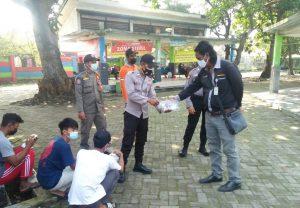 Gencarkan Wajib Masker, Polres Kep Seribu Bagikan 1.500 Masker Medis ke Warga