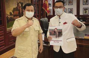 Jalin Komunikasi Politik, Ridwan Kamil Temui Prabowo Subianto