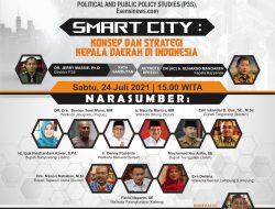 P3S Gelar Webinar Smart City, Jerry Massie: Indonesia Punya Potensi