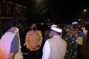 Personel Polres Tabanan Adakan Patroli Selama PPKM Darurat