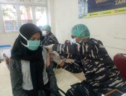 Satu Juta Vaksinasi TNI AL di Pademangan Jakut