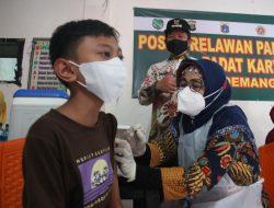 Peringati Hari Anak Nasional, Puluhan Ribu Anak di Jakut Terima Vaksinasi