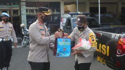 Polres Cilacap Distribusikan Beras dan Paket Sembako Kepada Polsek Jajaran dari Kapolri