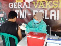 33 Warga Ikut Vaksinasi di Gerai Presisi Polres Kepulauan Seribu