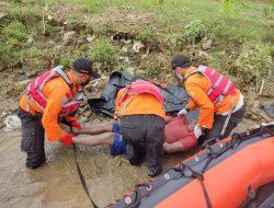 Basarnas Temukan Jasad Pekerja Proyek Yang Tenggelam di Sungai Serayu Banyumas