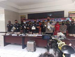 5 Pengedar Sabu Diamankan Polda Jawa Tengah, Ditangkap di Lokasi Berbeda