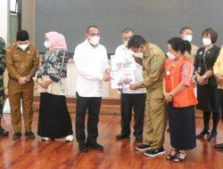 Dihadapan Gubernur Sumut, Bupati Simalungun Curhat Kurangnya Kuota Vaksin