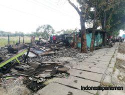 5 Warung Esek-esek di Pantura Ludes Terbakar, Kerugian Capai Ratusan Juta