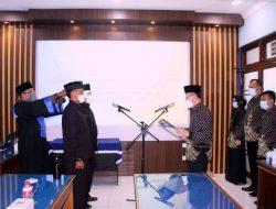 Dua Pejabat Struktural Perumda Tirta Pemalang Resmi Dilantik