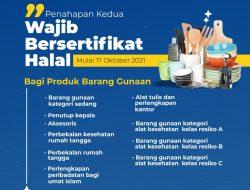 Mulai Hari Ini, Barang Gunaan Wajib Bersertifikat Halal