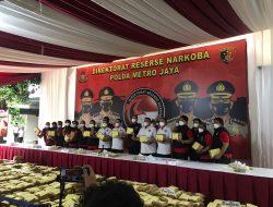 Peredaran 1,37 Ton Ganja Sindikat Aceh-Medan Diungkap Polda Metro jaya