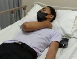 Mahasiswa Korban SmackDown Polisi Dilarikan ke RS, Mengaku Sakit Dada